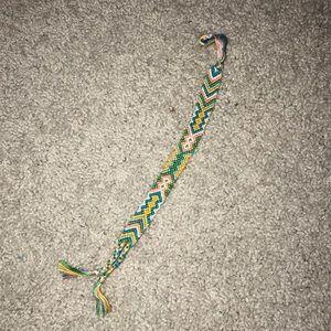 Jewelry - aztec design string bracelet